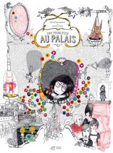 """Couverture """"Une princesse au palais"""""""
